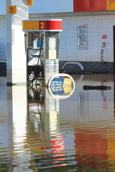 Clarksville, Louisiana businesses come to grips with flooding