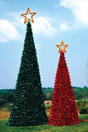 Christmas Tree Temple Displays