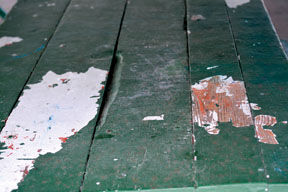 Damaged Picnic Table