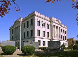 Pike County Courthouse stock photo