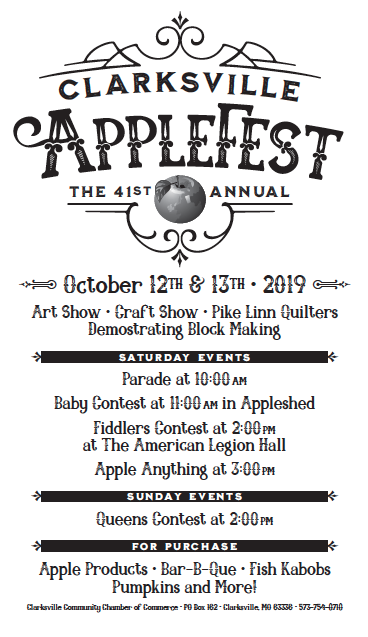 Clarksville Applefest graphic