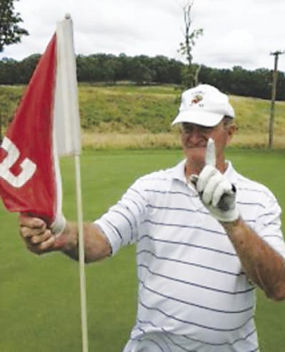Ed Pennington hole-in-one