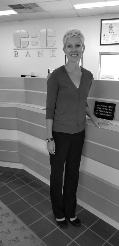 Julie Kiel new at CBC bank