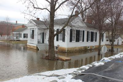 Clarksville Cottrell House Flooding