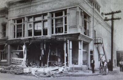 Clark Theater bombming