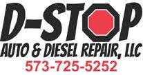 D-Stop Auto logo