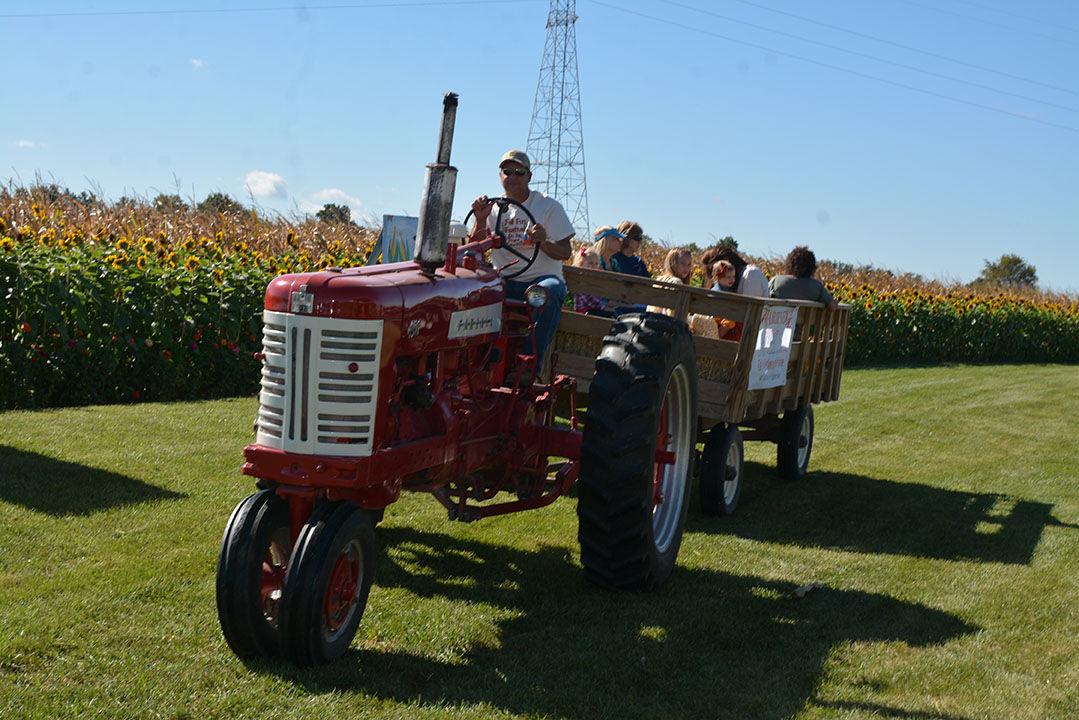 Tractor hay ride