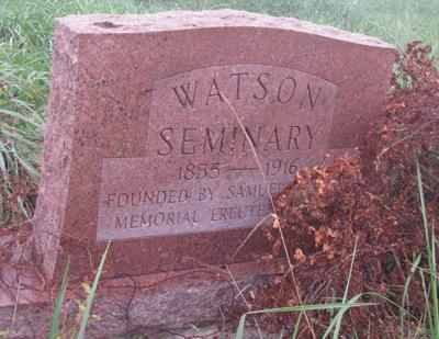 Watson tombstone
