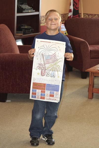 Obremski wins coloring contest