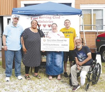 Round up grant for love serving god ministries