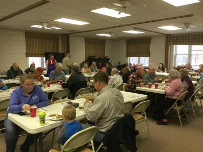 Church helps feed the community for Thanksgiving