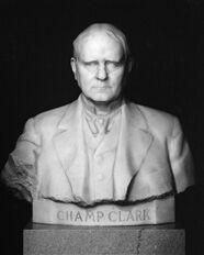 Champ Clark bust