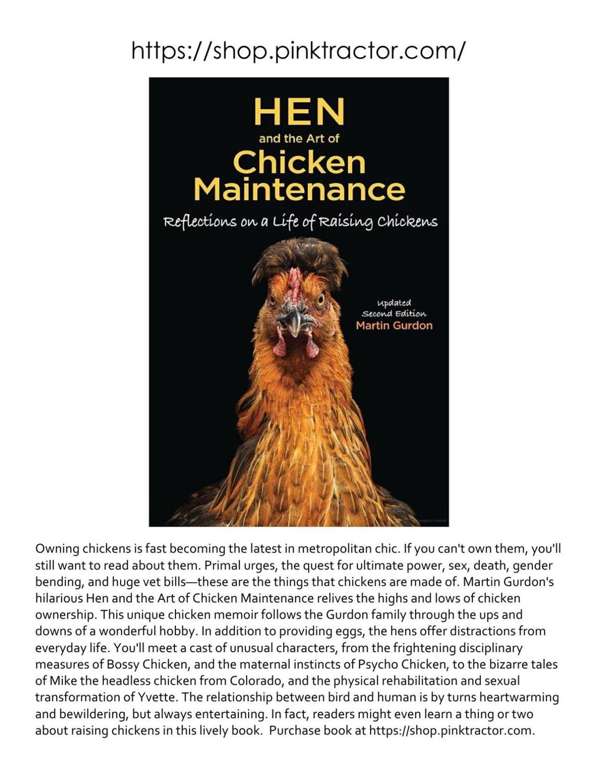 Hen The Art of Chicken Maintenance