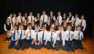 Holy Rosary holds in-school PA Junior Academy of Science competition