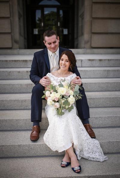 Megan Elizabeth Sweeney and Joseph Raymond Rovelli Jr. wedding