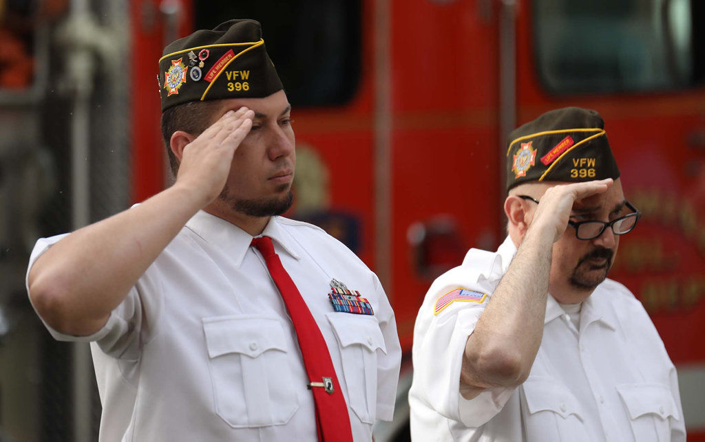 Smaller ceremonies honor sacrifice