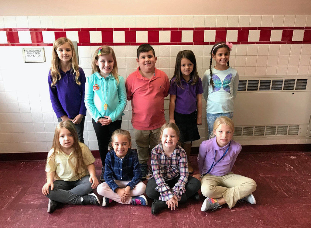 Pittston Area primary students have perfect attendance