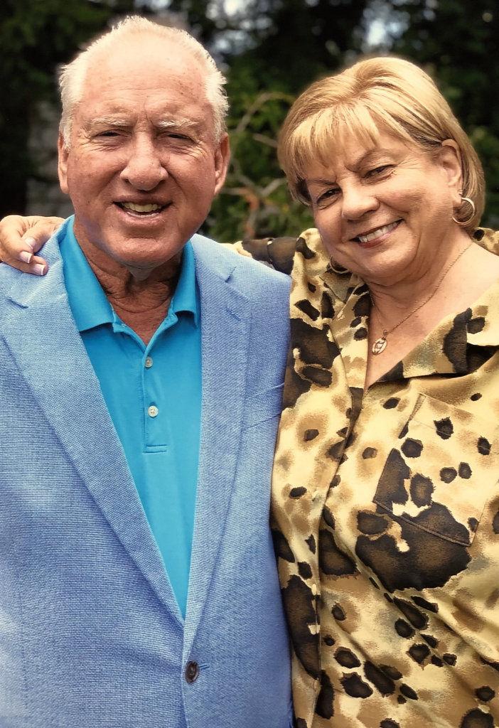 Mr. and Mrs. Hennigan observe 50th anniversary