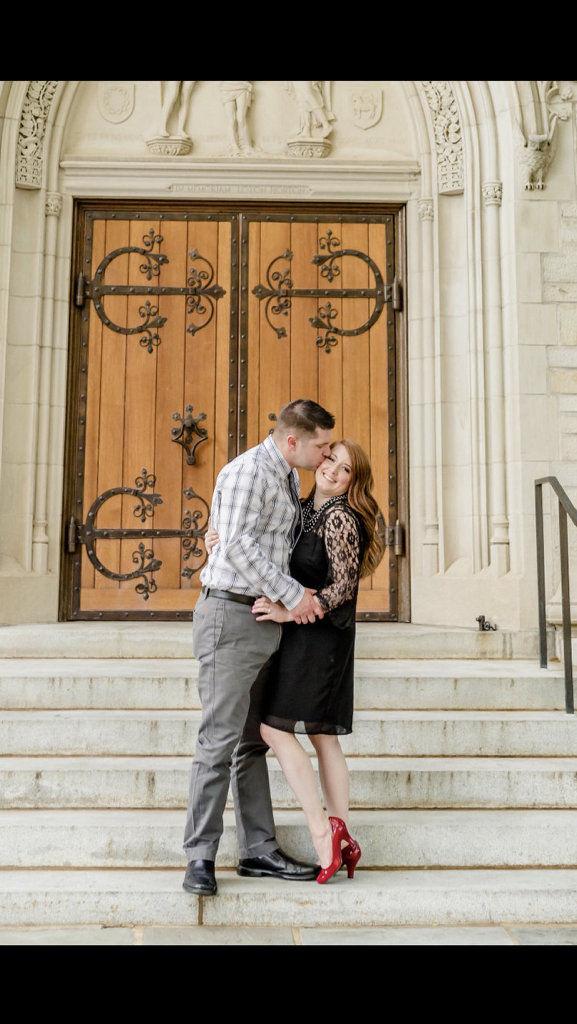 Allison Keeler and Steve Steransky engagement