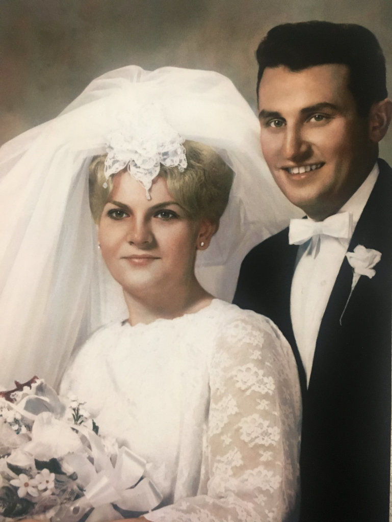 Mr. and Mrs. Wesolowski celebrate 50th anniversary