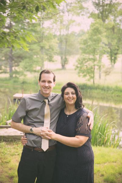 Michelle Adomiak and Joseph Hosner engagement