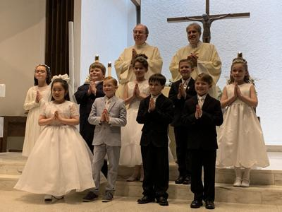 St. Maria Goretti holds First Holy Communion