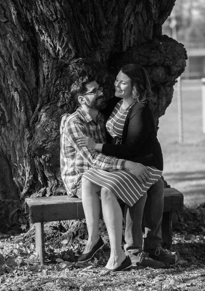Kristen Mullen and Bradley Parks engagement