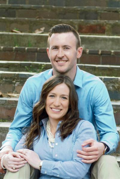 Ashley Knight and Andrew Bell engagement