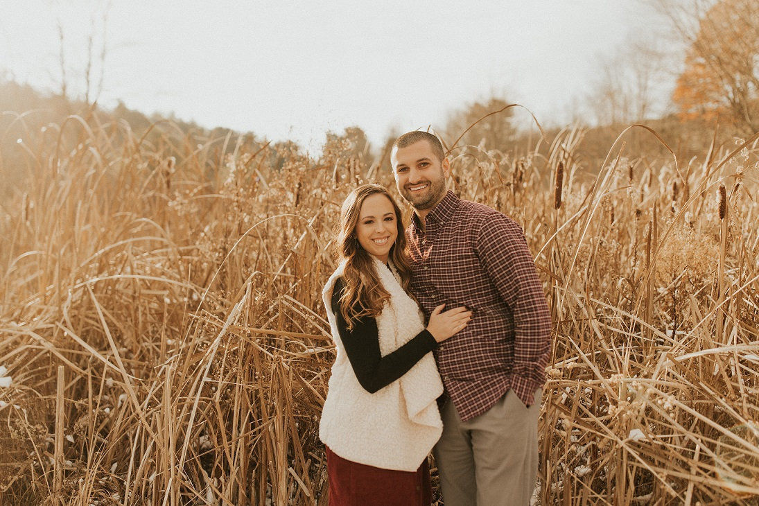 Mary Orr and Aaron Mattern