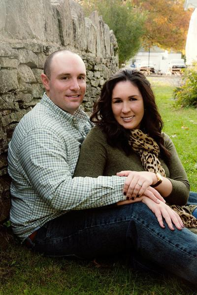 Megan Youells and Nicholas Georgetti engagement