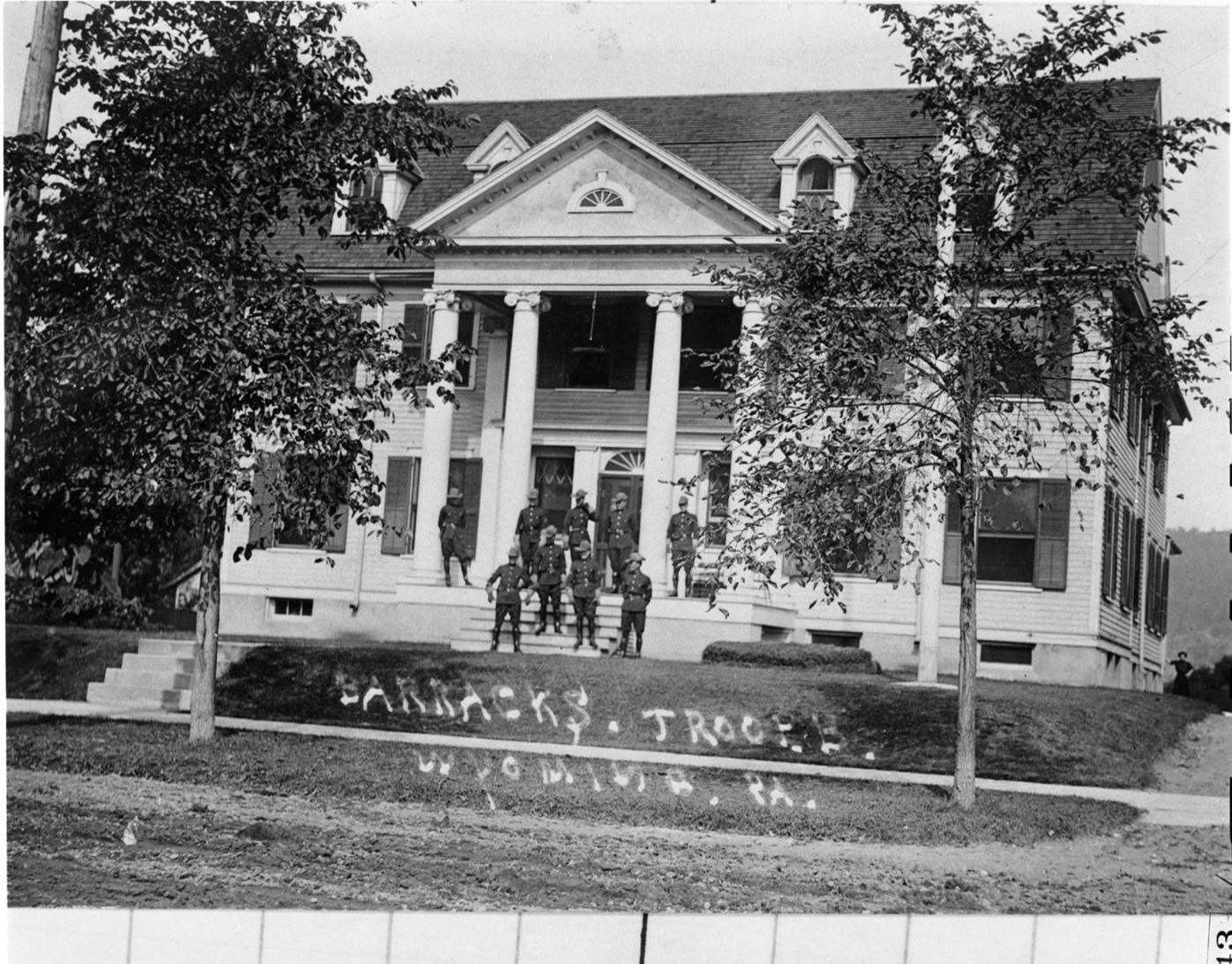 Wyoming State Police Barracks