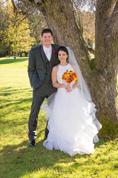Nicole Malesky and Joseph Coyne wedding