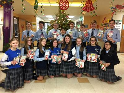 Wyoming Area Catholic sends gifts to Manor Care patients