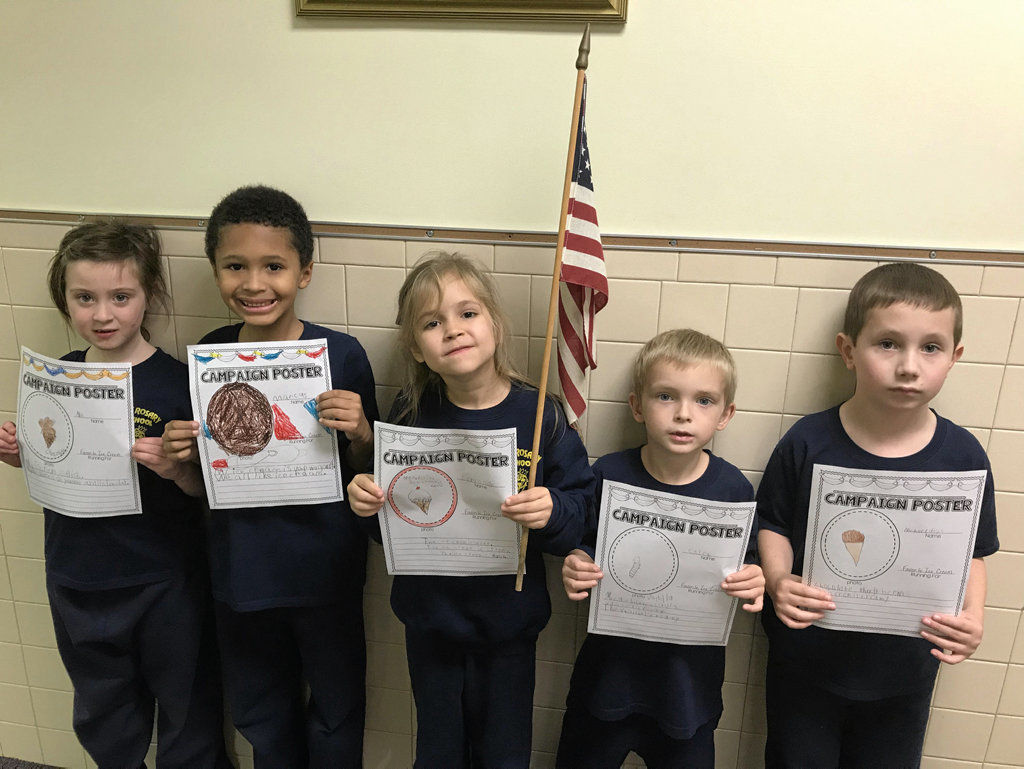 Holy Rosary students learn about voting