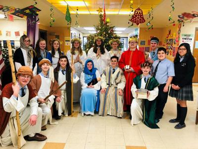 Wyoming Area Catholic presents annual Christmas pageant