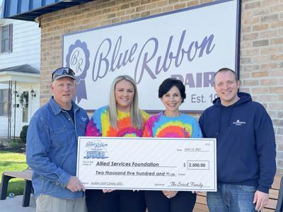 Blue Ribbon Dairy supports Allied's Autism Golf Classic