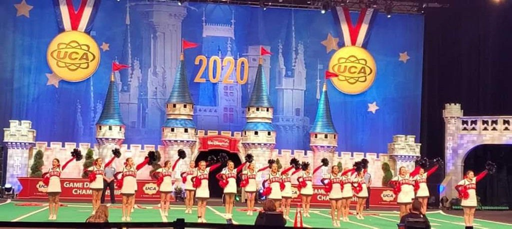 Pittston Area Cheerleaders place fifth at national cheer competition