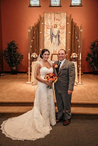 Megan Youells and Nicholas Georgetti wedding