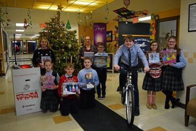 Wyoming Area Catholic donates to Toys for Tots