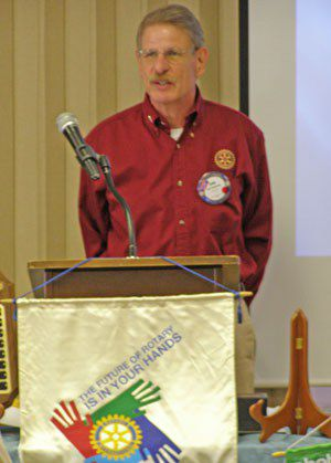 North Ridgeville Rotary installs new president