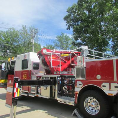 New Rocky River fire ladder truck to be ready for use in late July