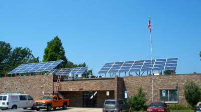 Hank Center solar panels pass test, start converting sunlight to power