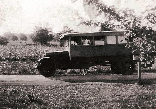 Old North Ridgeville school bus