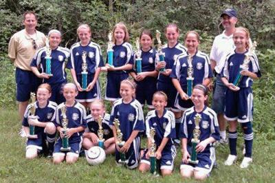 Local U11 girls soccer team wins championship