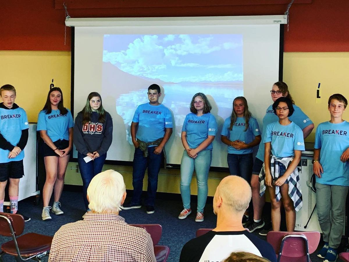 DSD students learn to lead