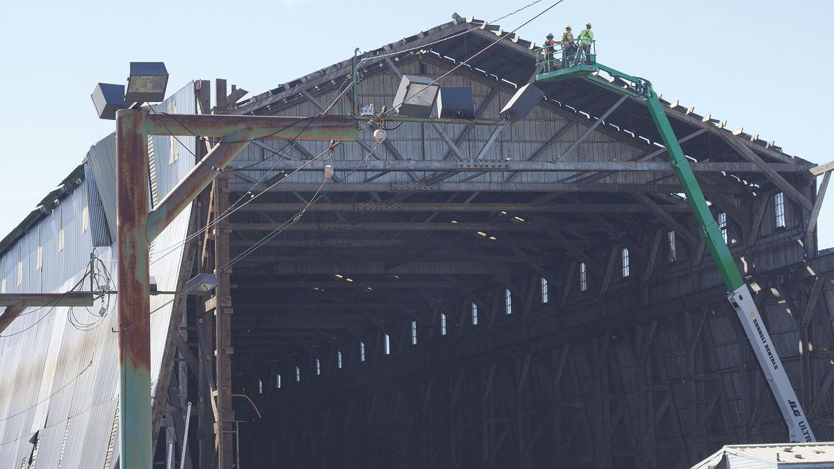 Mill landmark comes down | News | polkio com
