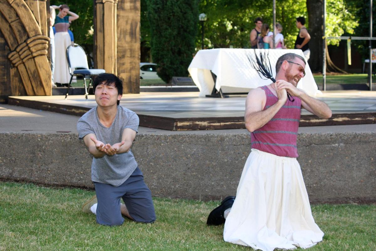 Classic comedy hits WOU's outdoor stage