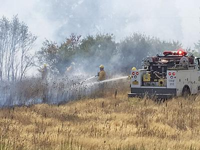 Dry weather increases fire danger