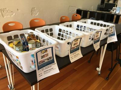 Competition fuels food drive