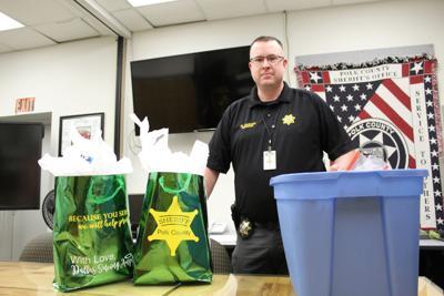Sheriff Mark Garton with PPE